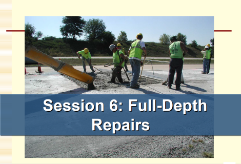 Full-Depth Repairs