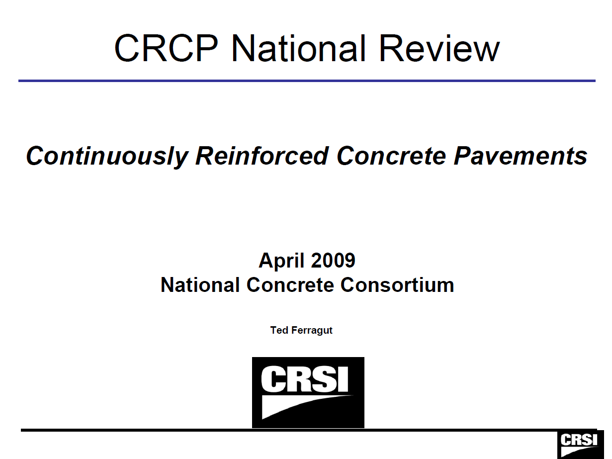 CRCP National Review