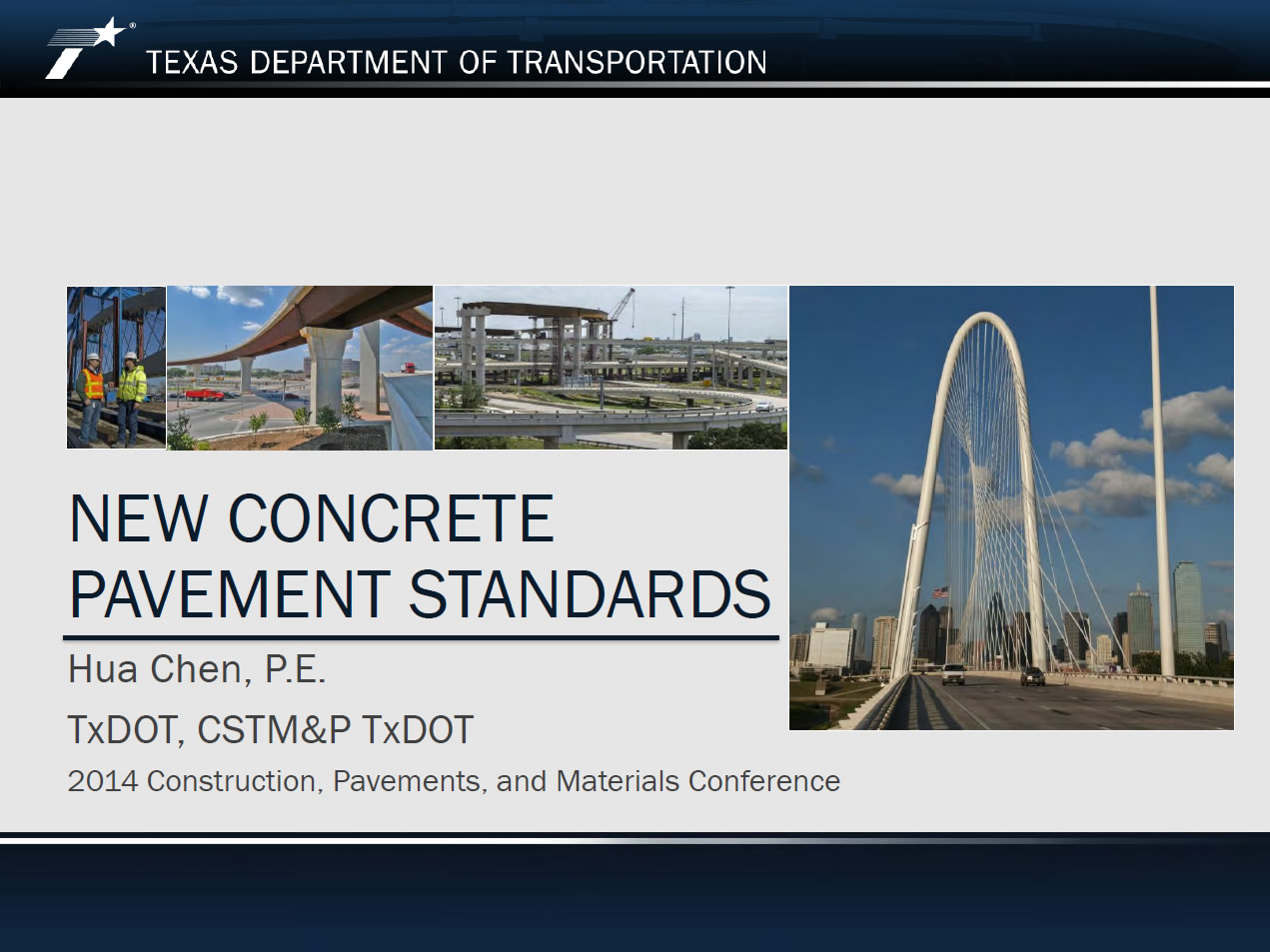 New Concrete Pavement Standards