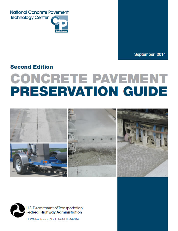 repair techniques of concrete pavements